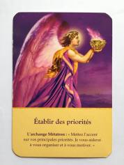 DOREEN VIRTUE ETABLIR DES PRIORITES
